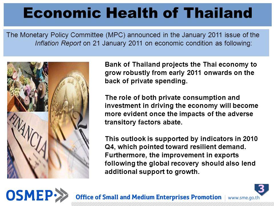 Condition of Thai Economic Factors 4 1.