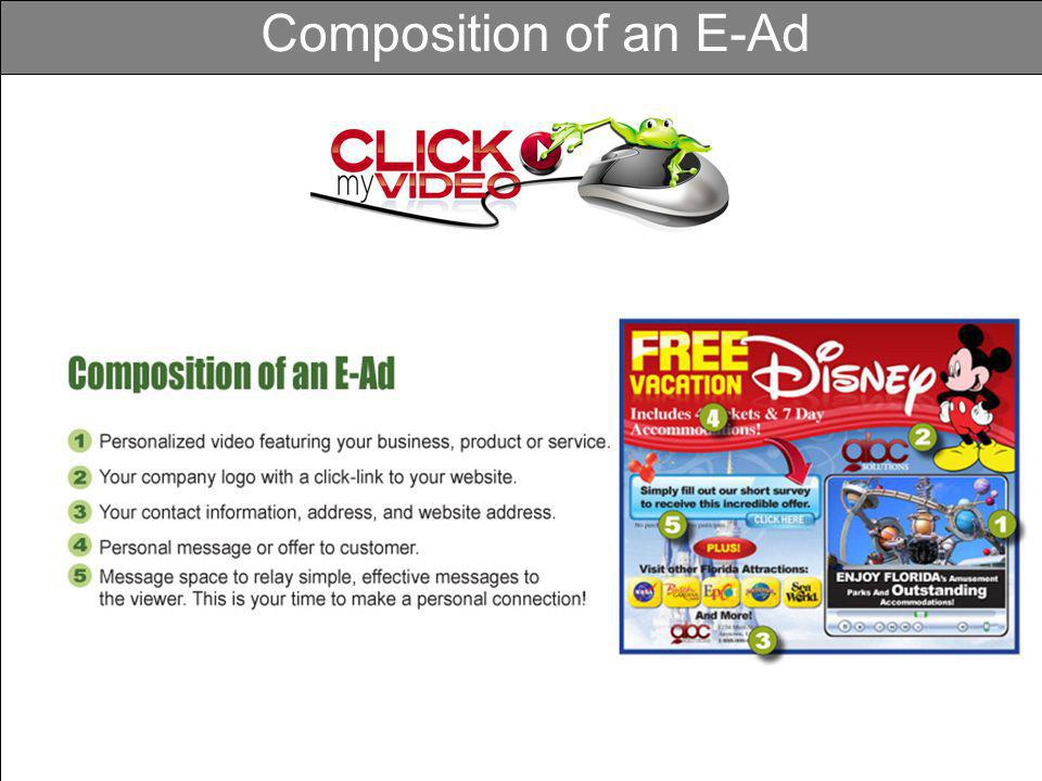 Composition of an E-Ad
