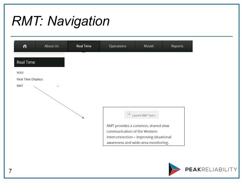 7 RMT: Navigation