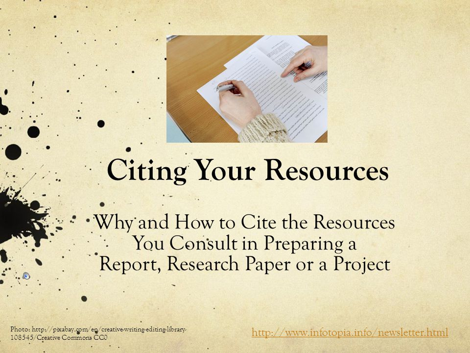 how to prepare a research paper