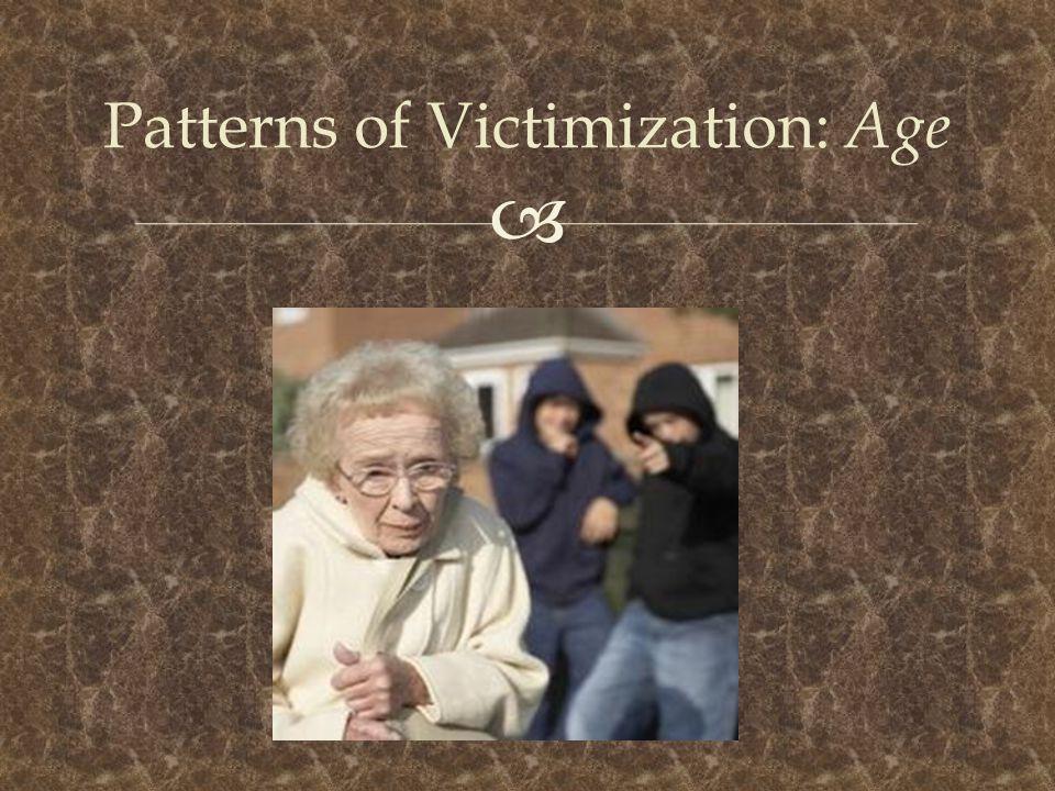  Patterns of Victimization: Age