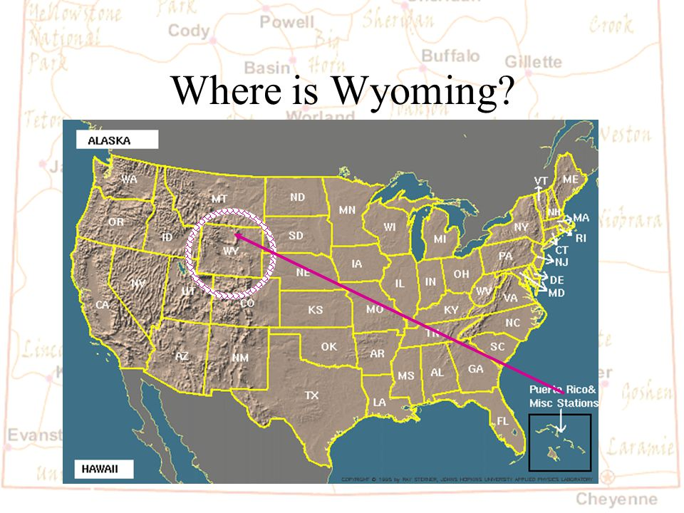Barb Austin LCSD#1 Where is Wyoming?