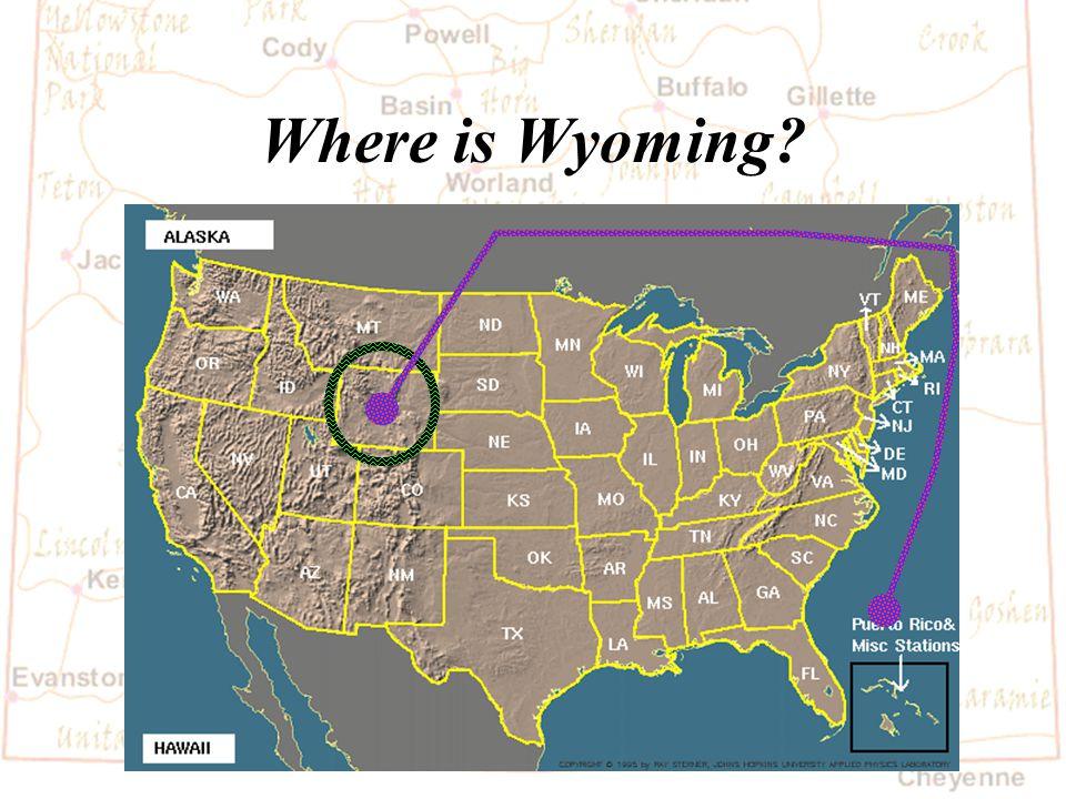 Wyoming History Erik 4 th Grade Dildine School February 15, 2005