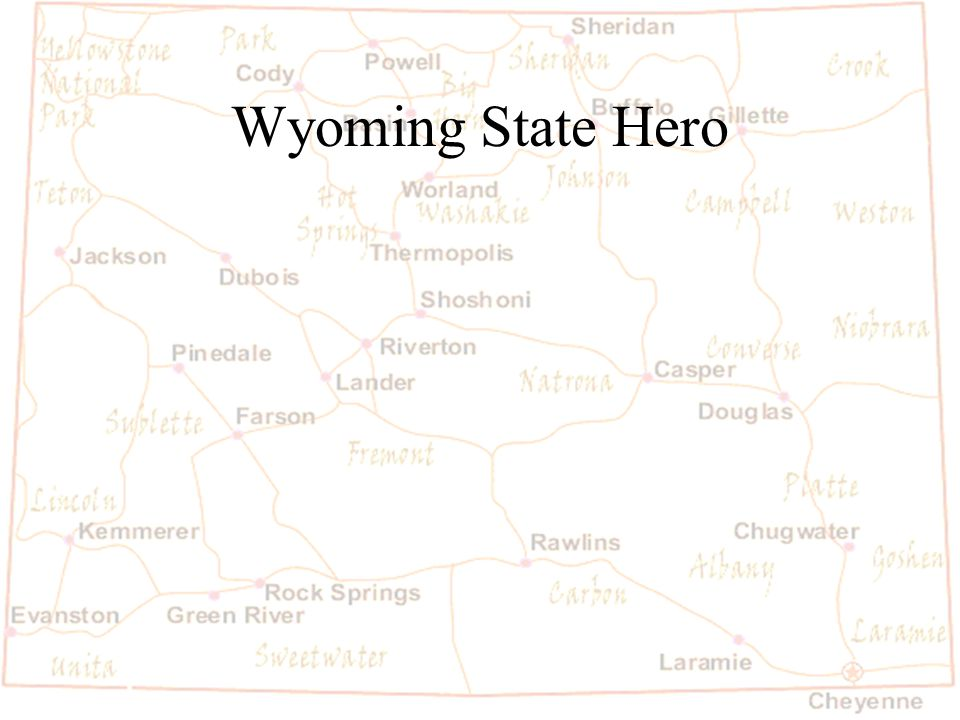 Barb Austin LCSD#1 Wyoming State Hero