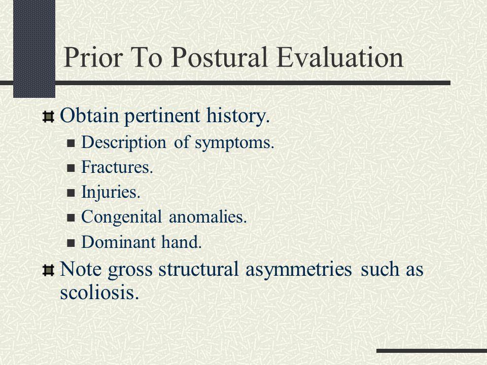 Postural Views