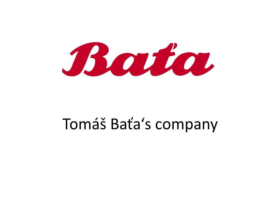 Tomáš Baťa's company