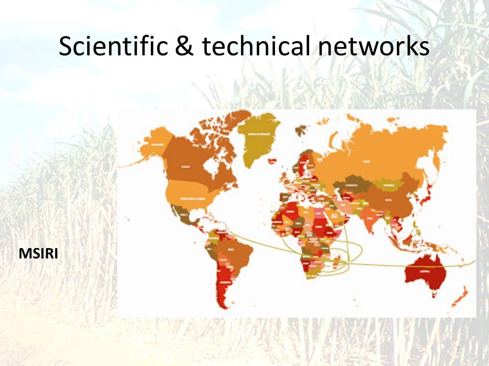 Scientific & technical networks 7 MSIRI