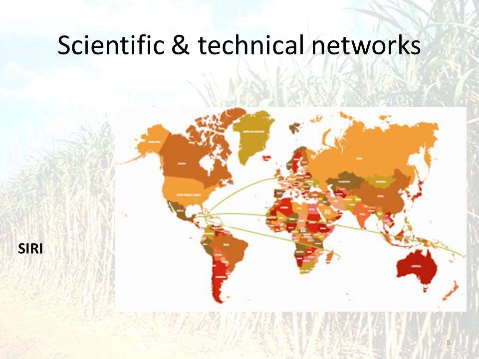 Scientific & technical networks 8 SIRI