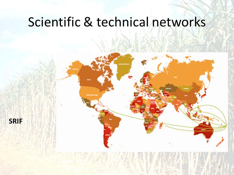 Scientific & technical networks 9 SRIF