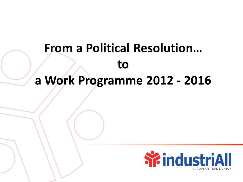 Future Priorities Work Programme 2.