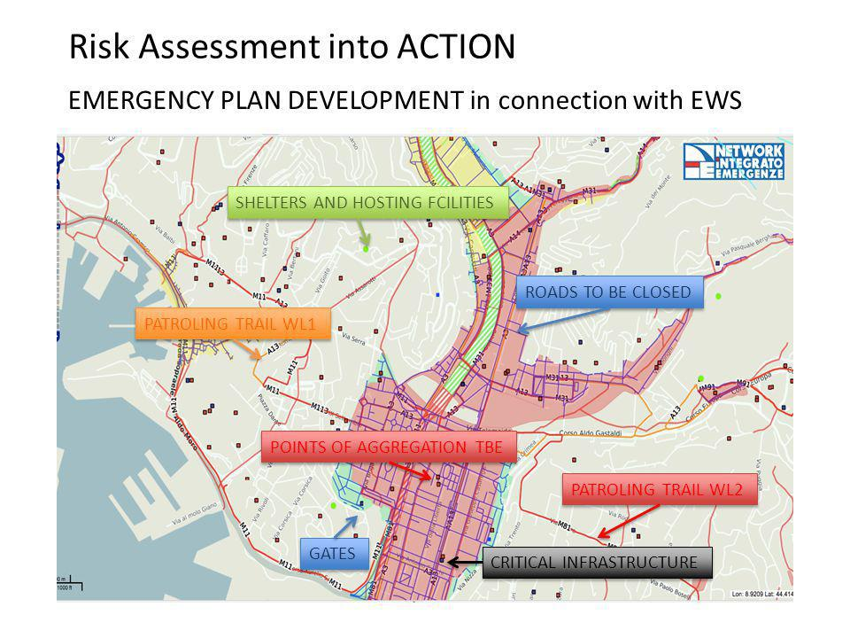RISK ASSESMENT AT NATIONAL LEVEL HAZARD ASSESSMENT AT LOCAL LEVEL RISK ASSESSMENT AT LOCAL LEVELEMERGENCY PLAN DEVELOPMENT in connection with EWS PATR