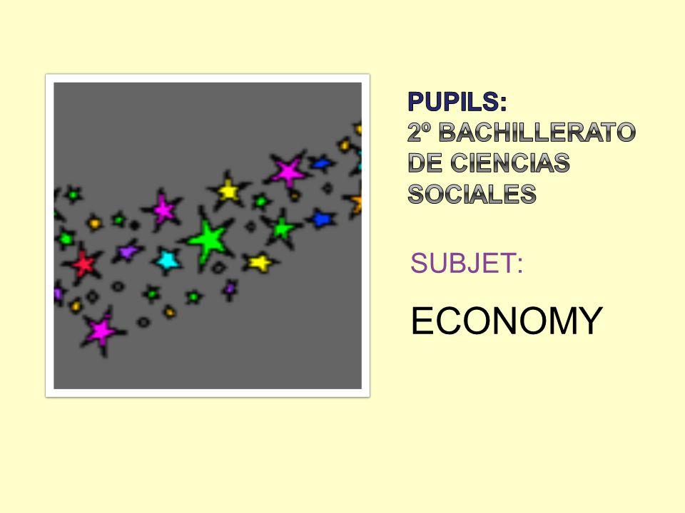 SUBJET: ECONOMY