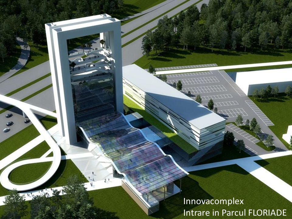 Innovacomplex Intrare in Parcul FLORIADE