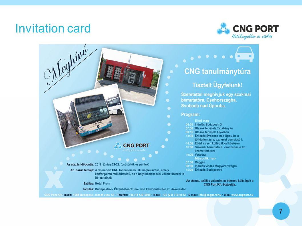 Invitation card 7