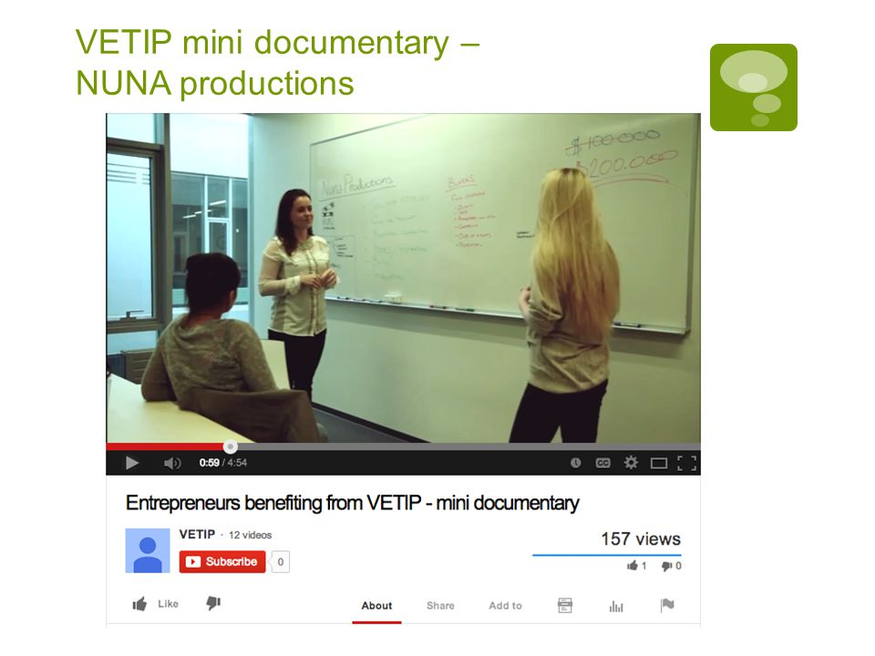VETIP mini documentary – NUNA productions