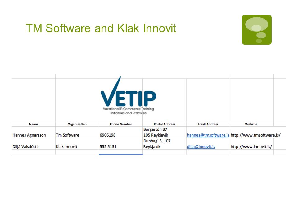 TM Software and Klak Innovit