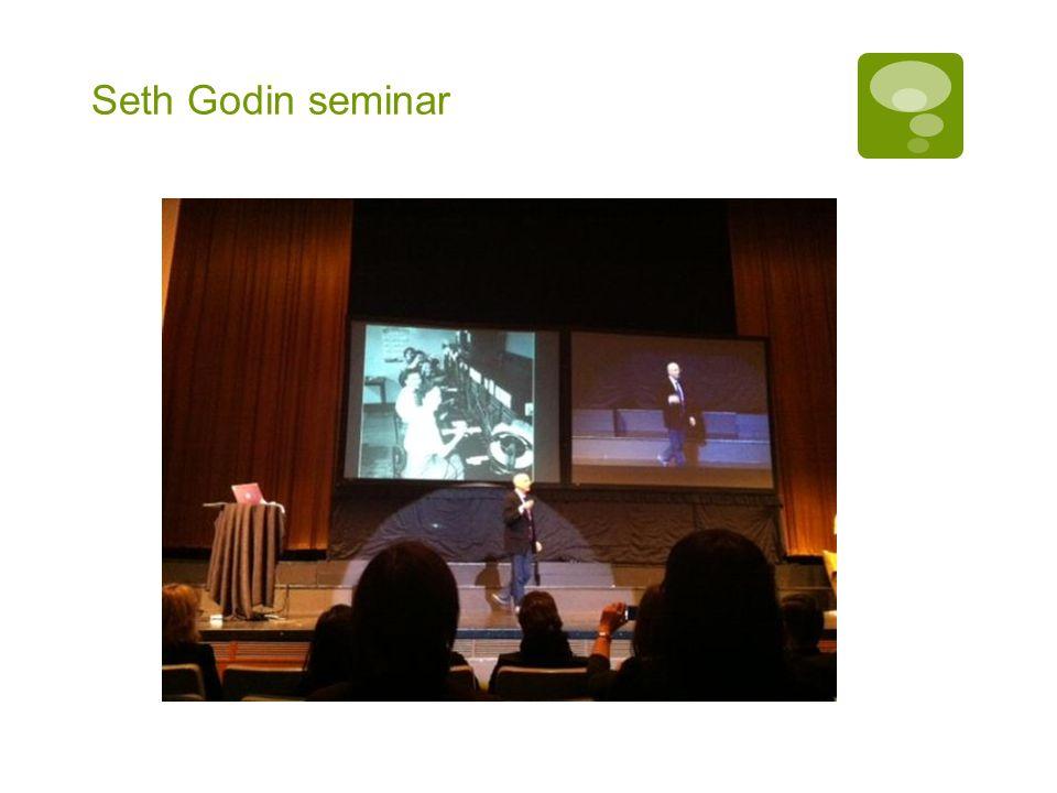 Seth Godin seminar