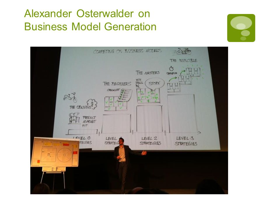 Alexander Osterwalder on Business Model Generation