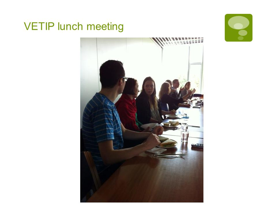 VETIP lunch meeting