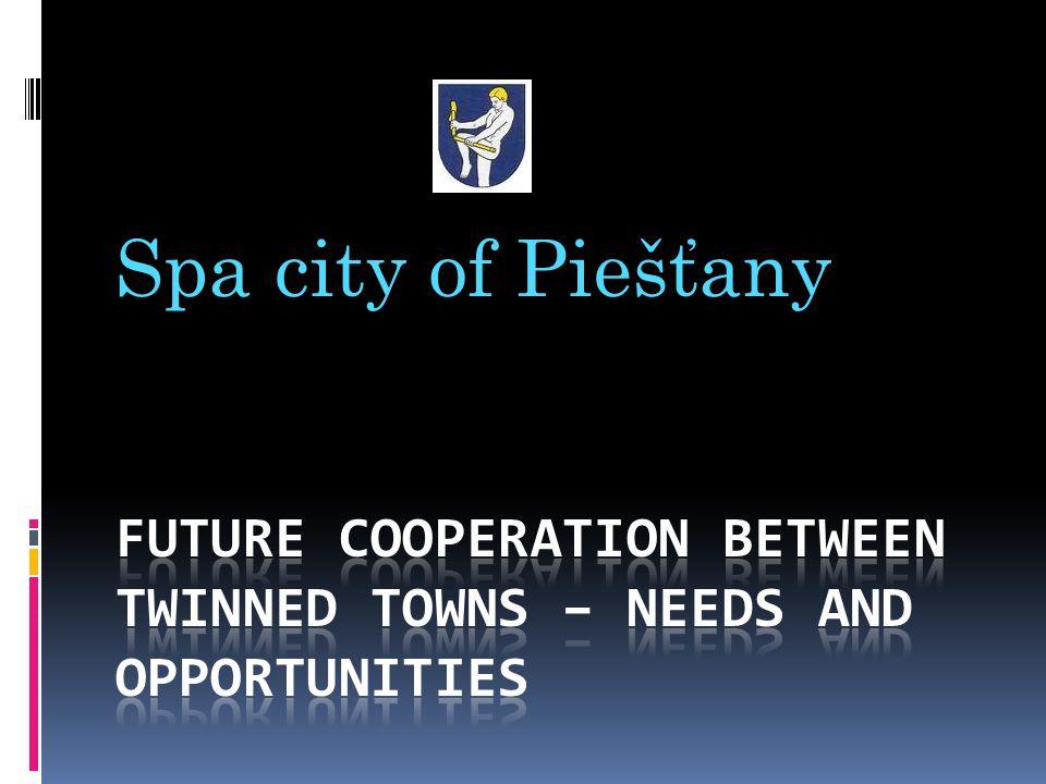 Spa city of Piešťany