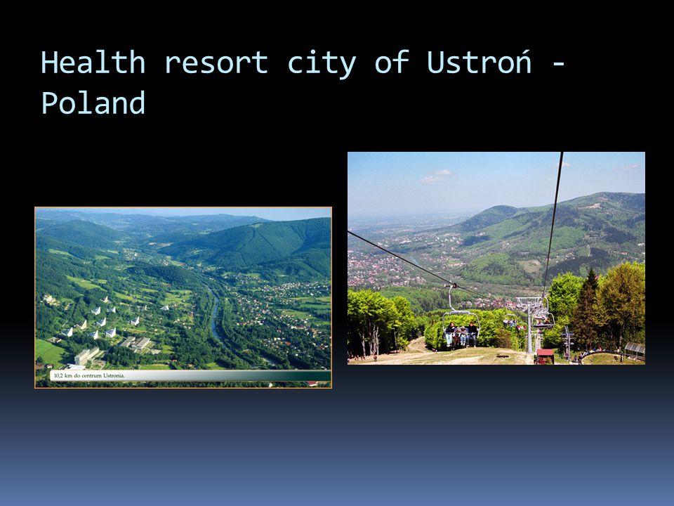 Health resort city of Ustroń - Poland