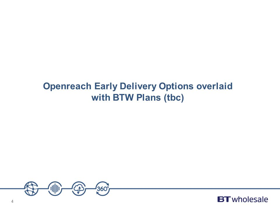 44 Openreach Early Delivery Options overlaid with BTW Plans (tbc)