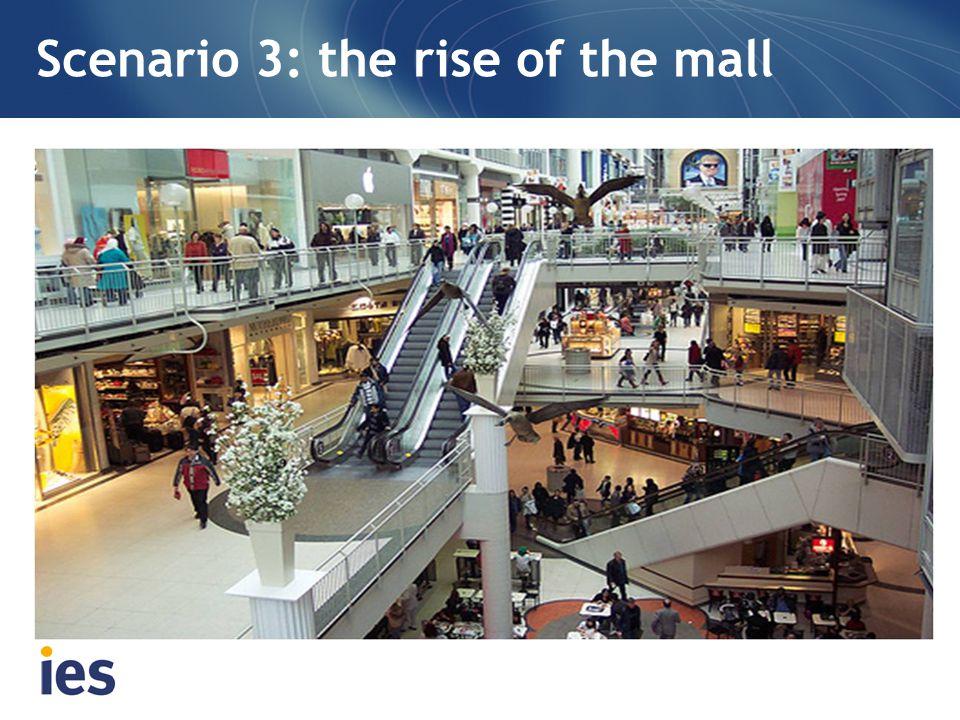 Scenario 3: the rise of the mall