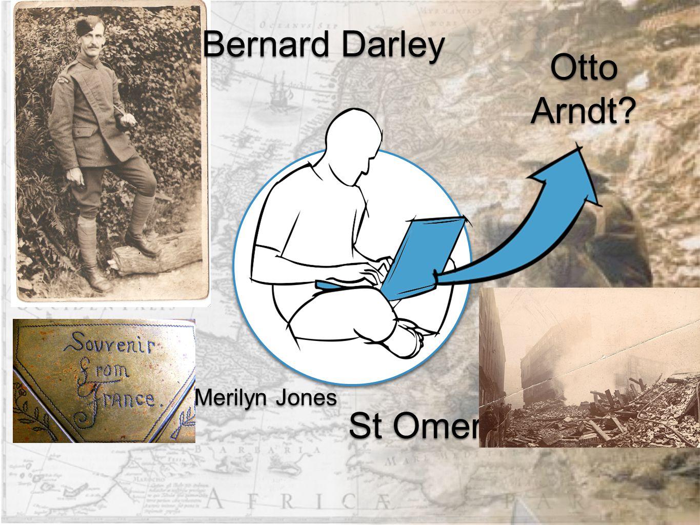 Bernard Darley Merilyn Jones St Omer Otto Arndt