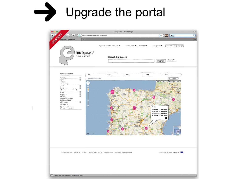 Upgrade the portal
