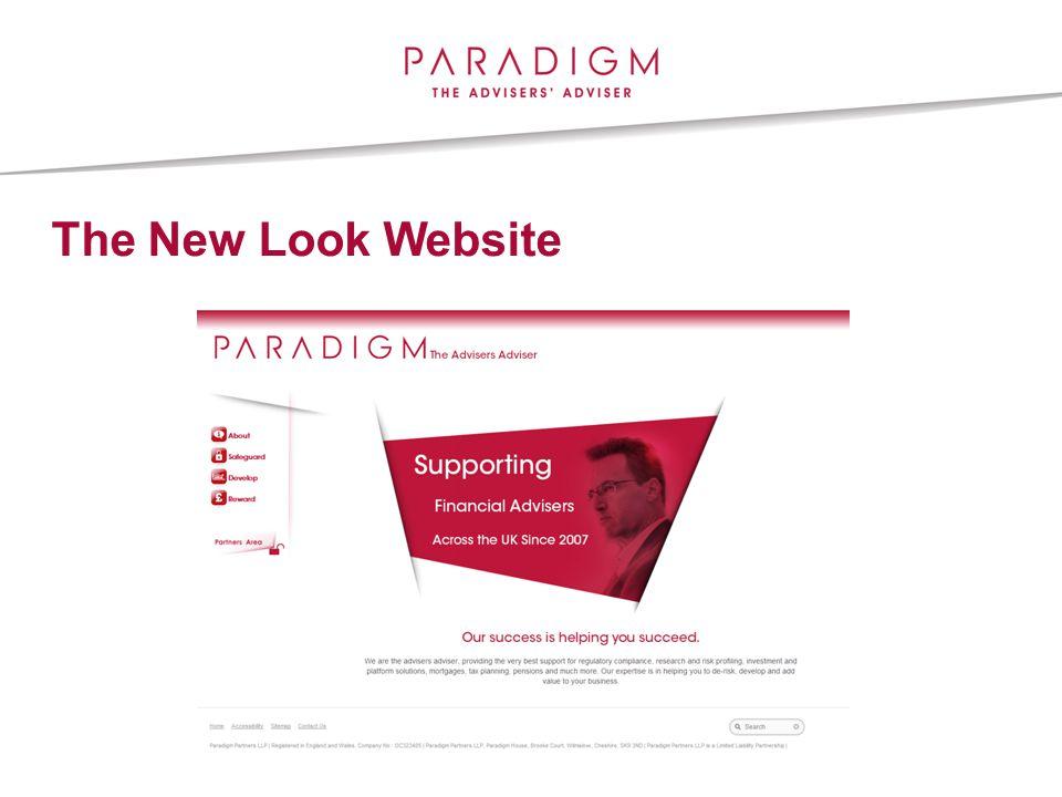 The New Look Website