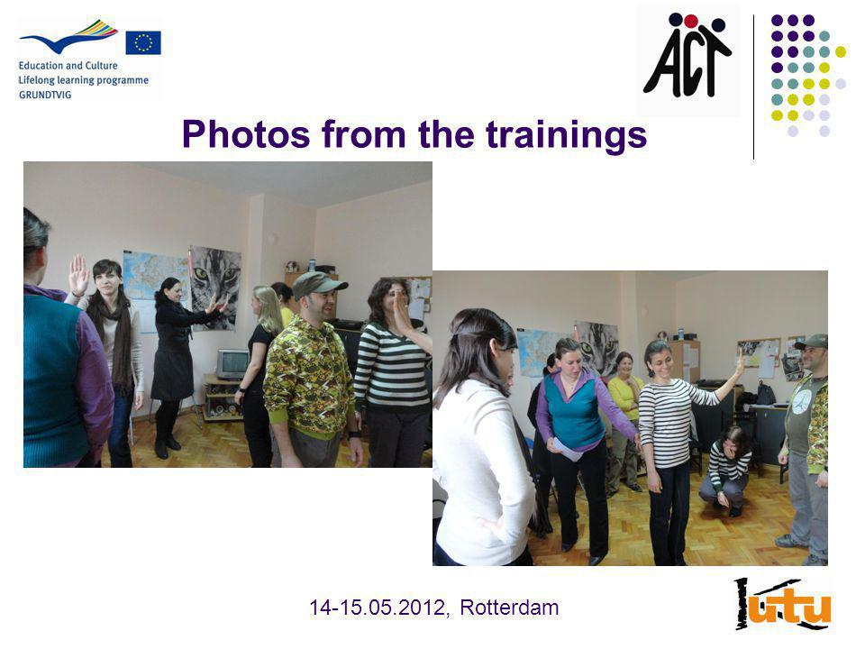 Photos from the trainings , Rotterdam