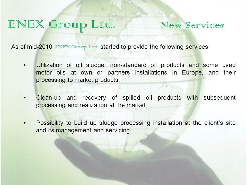 ENEX CARBON ENEX Group Ltd.