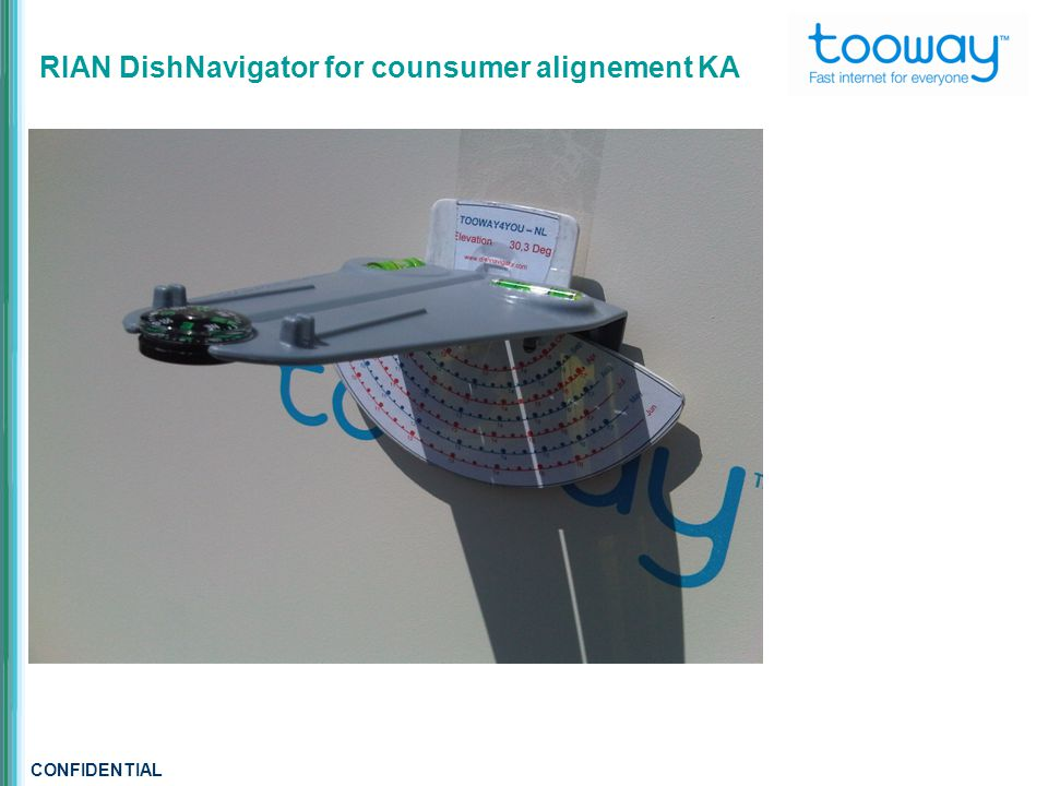 CONFIDENTIAL RIAN DishNavigator for counsumer alignement KA