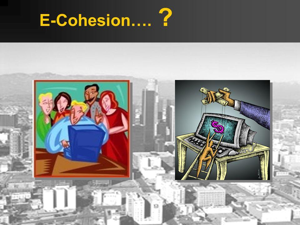 E-Cohesion….
