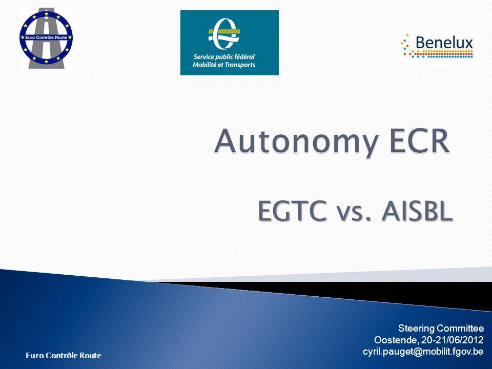 Euro Contrôle Route EGTC vs.