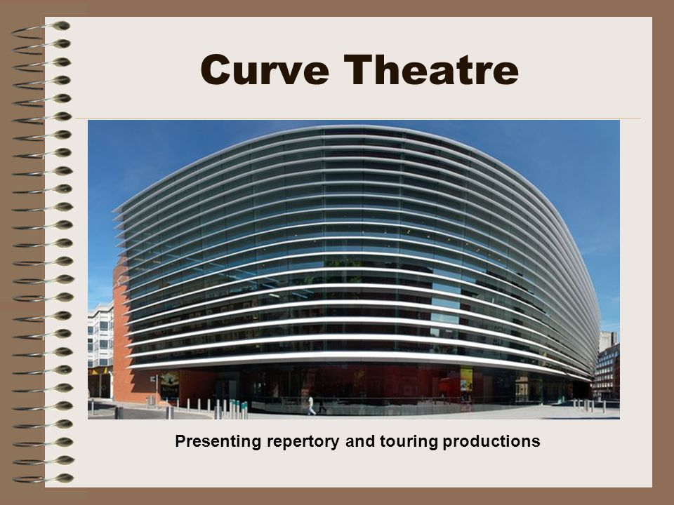 Curve Theatre Presenting repertory and touring productions