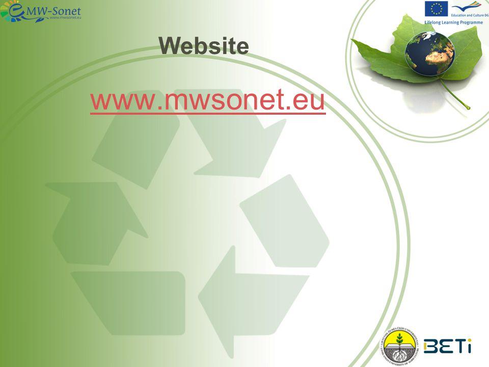 Website www.mwsonet.eu