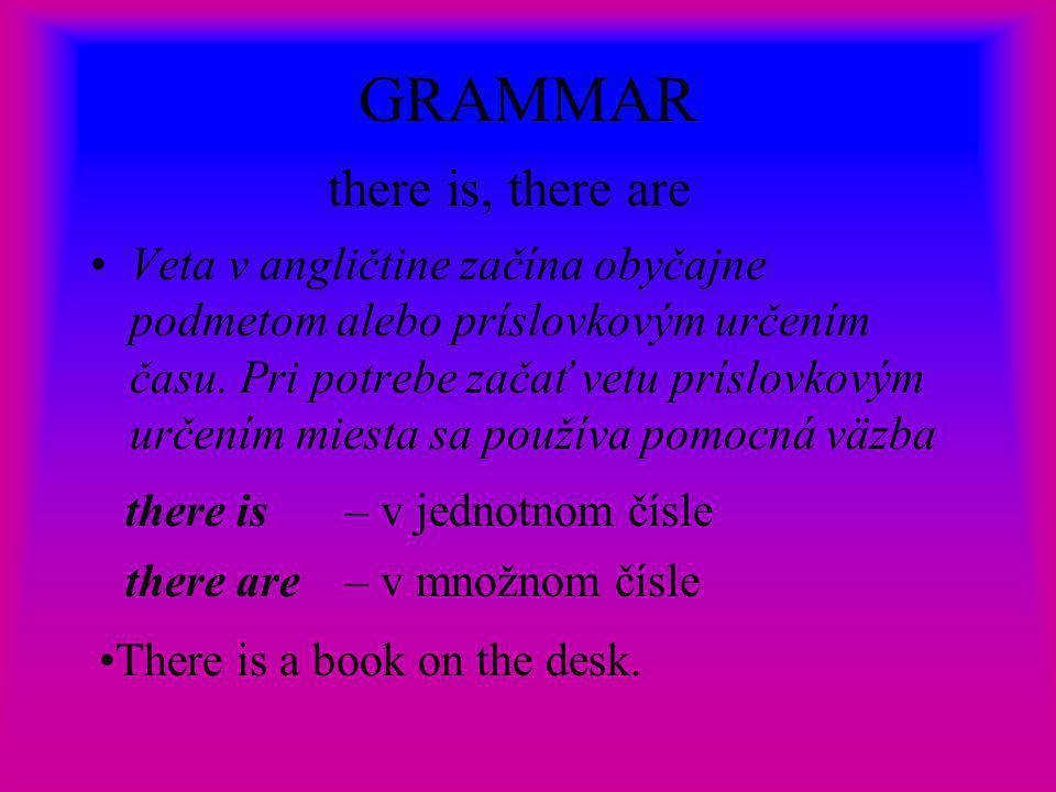 GRAMMAR Pomocou will vyjadrujeme budúci dej, stav alebo domnienku.Tvoríme ho pomocou pomocného slovesa will.
