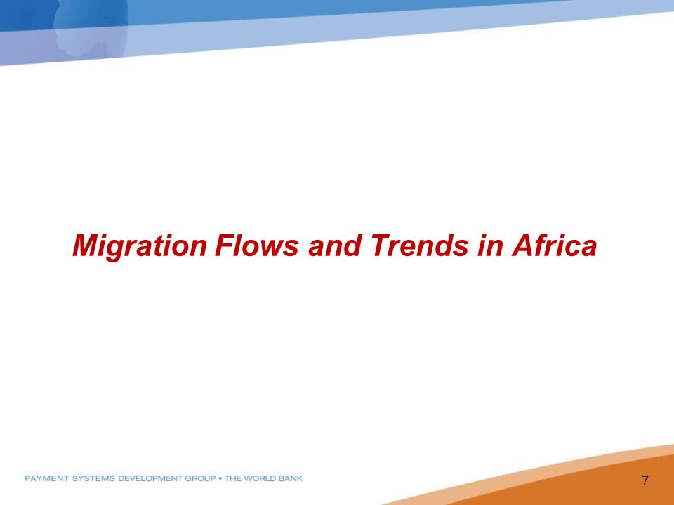 Migration Flows and Trends in Africa 7