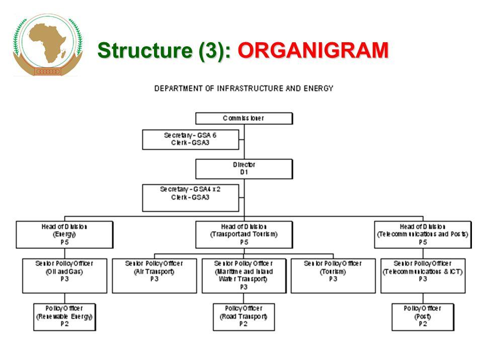 Structure (3): ORGANIGRAM