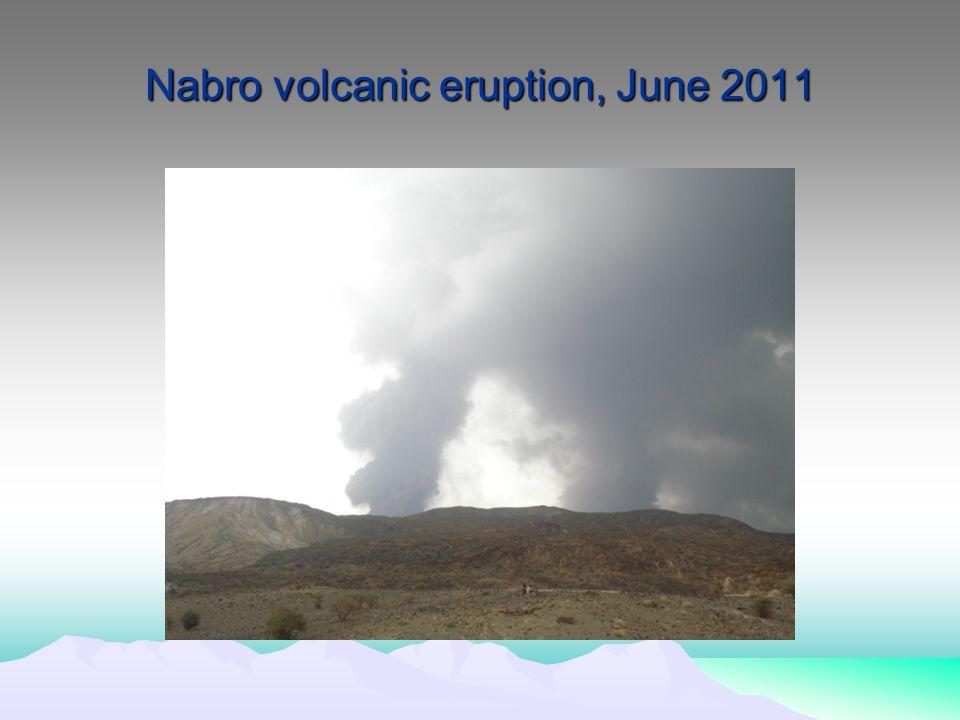 Nabro volcanic eruption, June 2011