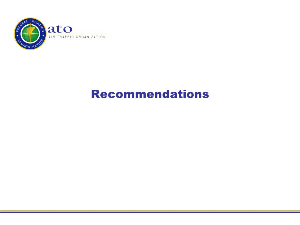 43 Recommendations: C-band Identify the portions of the IEEE 802.16e standard best suited for airport surface wireless mobile communications, identify and develop missing required functionalities and propose an aviation specific standard to appropriate standardisation bodies Evaluate and validate the performance of aviation specific standard wireless mobile communications networks operating in the relevant airport surface environments through trials and test bed development Propose a channelisation methodology for allocation of safety and regularity of flight services in the band to accommodate a range of airport classes, configurations and operational requirements Complete the investigation of compatibility of prototyped C-band components with existing systems in the C-band in the airport surface environment and interference with others users of the band