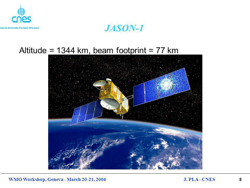 9 WMO Workshop, Geneva - March 20-21, 2006J. PLA - CNES Jason-1 Instrument