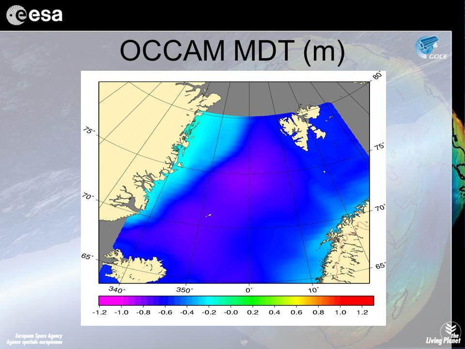 OCCAM MDT (m)