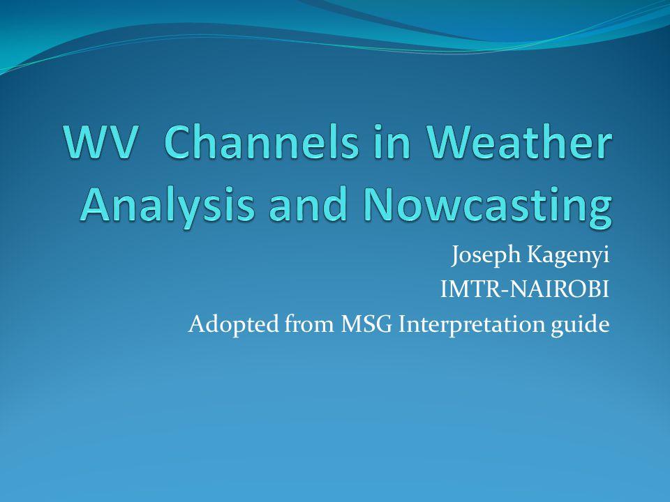 Joseph Kagenyi IMTR-NAIROBI Adopted from MSG Interpretation guide