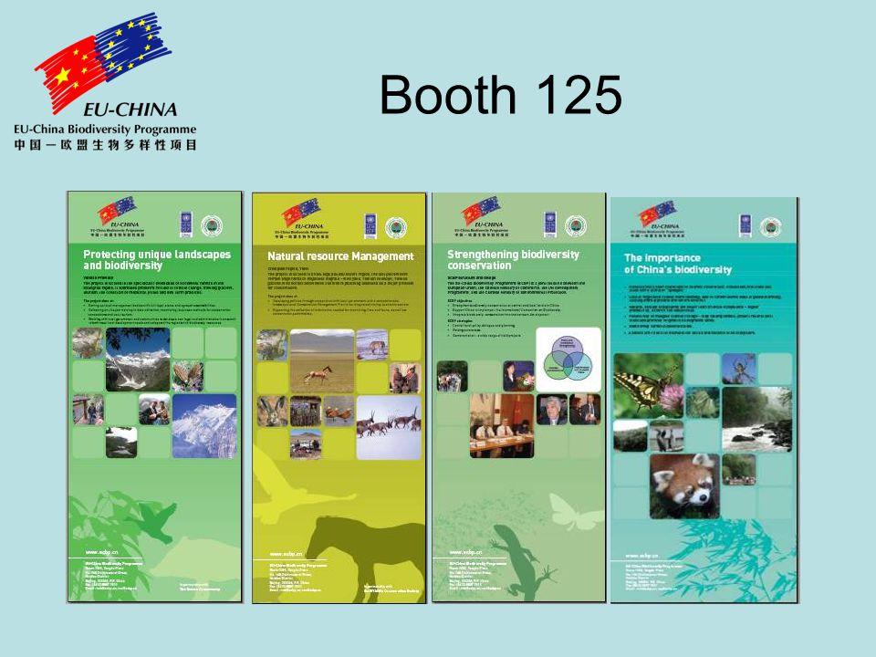 EU-China Biodiversity Programme (ECBP) EUs largest overseas biodiversity programme Implemented by Chinese Government & UNDP China € 52 million, including field project partnership contributions