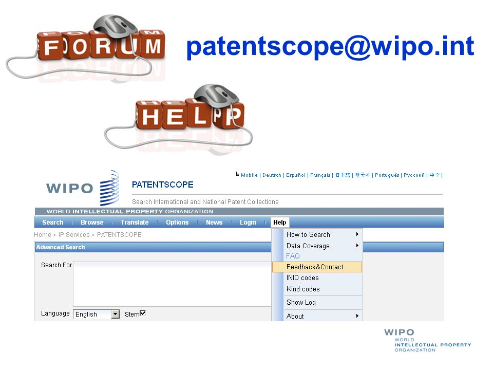 patentscope@wipo.int