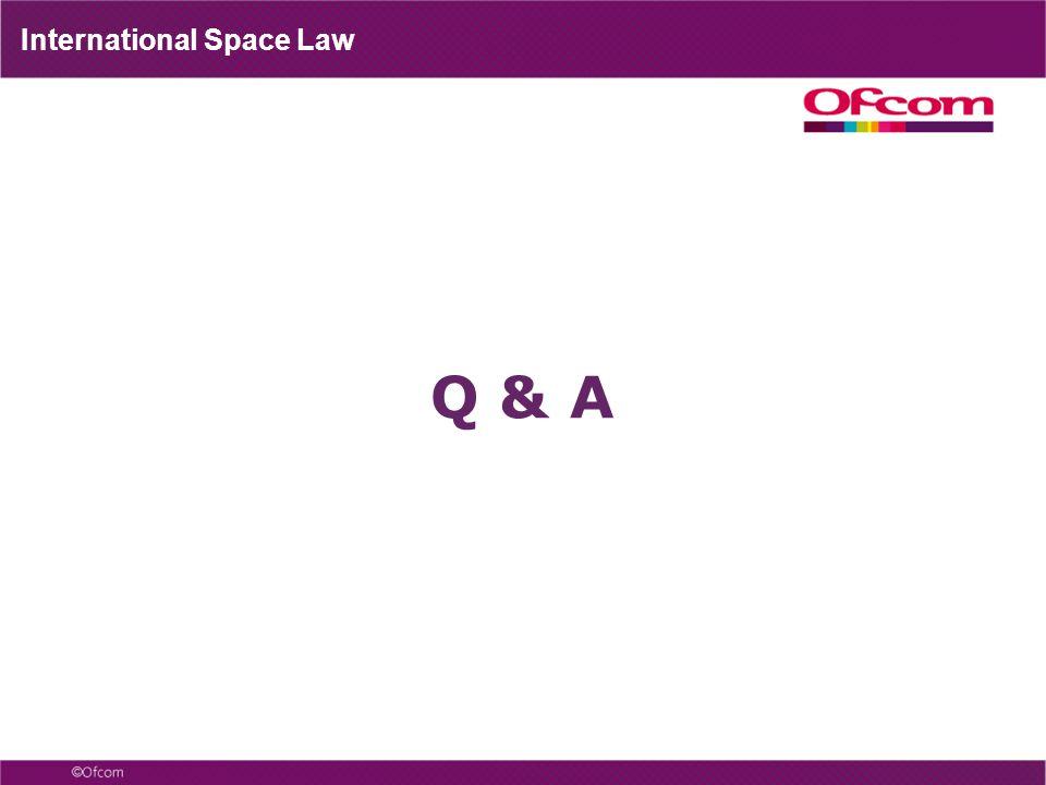 International Space Law Q & A