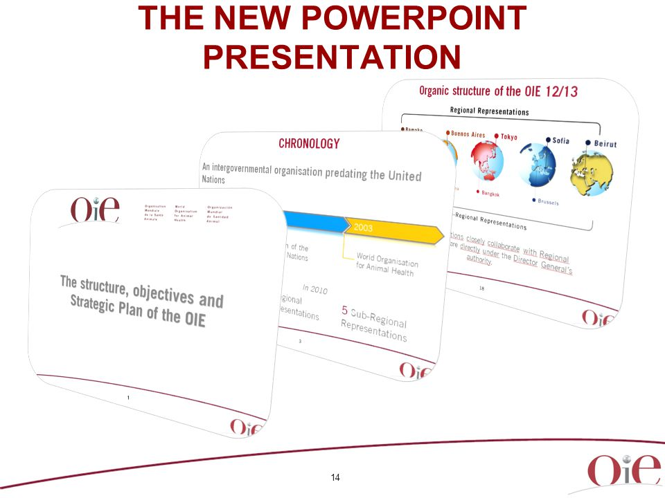 14 THE NEW POWERPOINT PRESENTATION