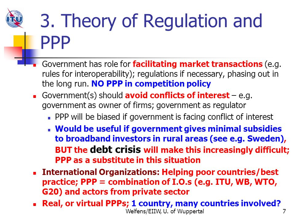 4.Regulatory Challenges: Still to Be Done Adequate incentives for broadband investm.